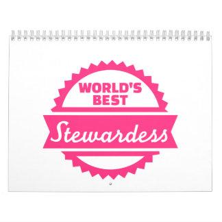 La mejor azafata del mundo calendario