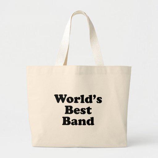 La mejor banda del mundo bolsa de mano