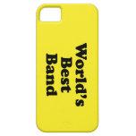 La mejor banda del mundo iPhone 5 Case-Mate protectores