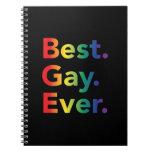 La mejor bandera del arco iris del gay nunca LGBT Notebook