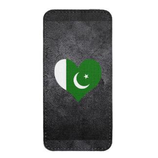 La mejor bandera paquistaní del corazón funda para iPhone 5