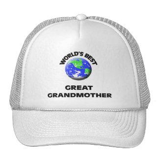 La mejor bisabuela del mundo gorras de camionero