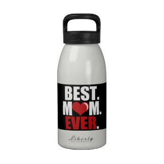 La mejor botella de agua de la mamá nunca rojo