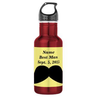 La mejor botella de agua del bigote del hombre