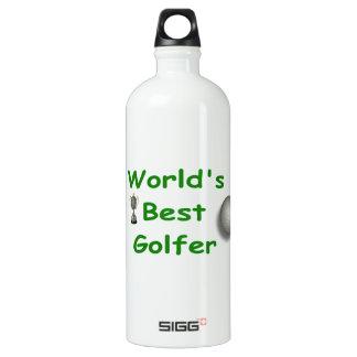 La mejor botella de la libertad del golfista del