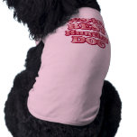 La mejor camiseta de Camo del rosa del perro de ca Camisetas De Perrito