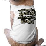 La mejor camiseta de color caqui de Camo del perro Camisa De Perro