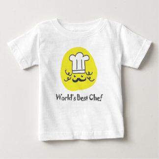 La mejor camiseta del cocinero del mundo playeras