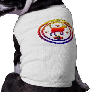 La mejor camiseta del premio del perro playera sin mangas para perro
