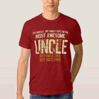 La mejor camiseta del TÍO nunca regalo para él Camisas