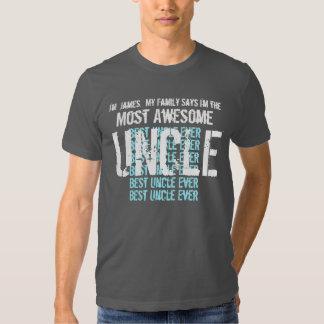 La mejor camiseta del TÍO nunca regalo para él Poleras