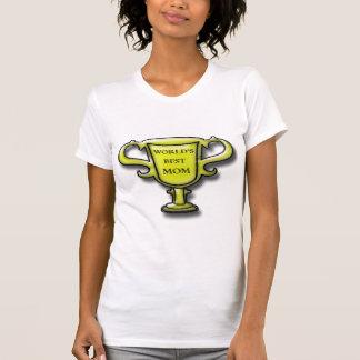La mejor camiseta del trofeo de la mamá del mundo playera