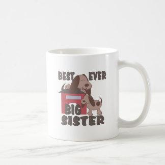 La mejor caseta de perro de la hermana grande nunc taza