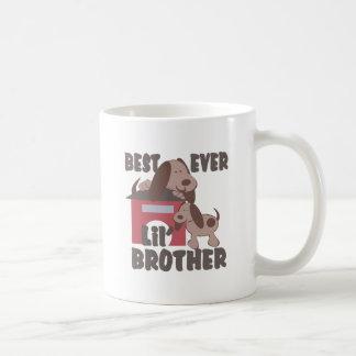 La mejor caseta de perro de pequeño Brother nunca Tazas De Café