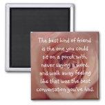 La mejor clase de amigo… imanes