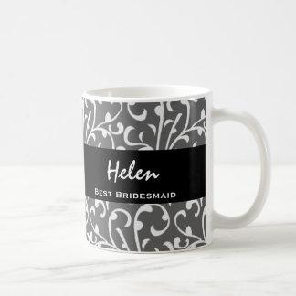 La mejor colección del regalo de los remolinos de  taza básica blanca