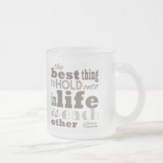 La mejor cosa de la vida taza de café