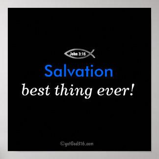 La mejor cosa nunca gotGod316.com de la salvación Poster