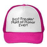 La mejor criada de Freakin del honor que se casa n Gorros Bordados