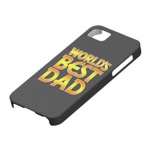 La mejor cubierta del iPhone 5 del papá del mundo iPhone 5 Cárcasas