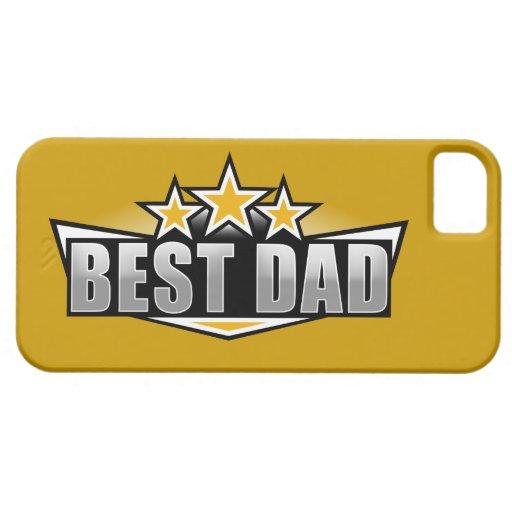 La mejor cubierta del iPhone 5 del papá iPhone 5 Cárcasas