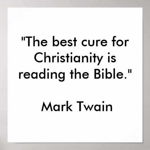 """""""La mejor curación para el cristianismo Poster"""