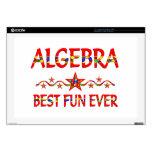 La mejor diversión de la álgebra skins para 43,2cm portátiles