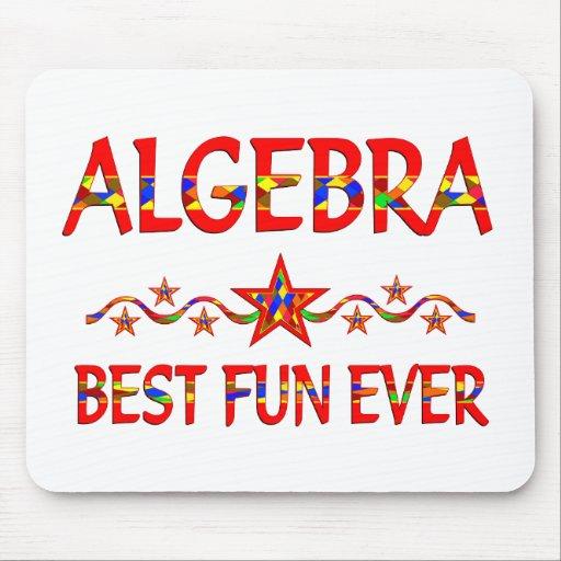 La mejor diversión de la álgebra alfombrilla de ratones