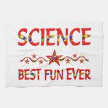 La mejor diversión de la ciencia toallas de cocina