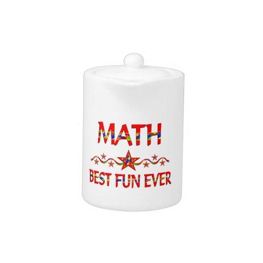 La mejor diversión de la matemáticas