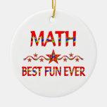La mejor diversión de la matemáticas ornamento de reyes magos