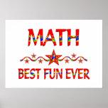 La mejor diversión de la matemáticas impresiones
