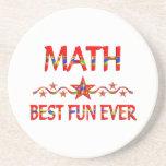 La mejor diversión de la matemáticas posavasos manualidades