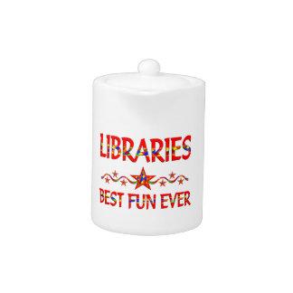 La mejor diversión de las bibliotecas