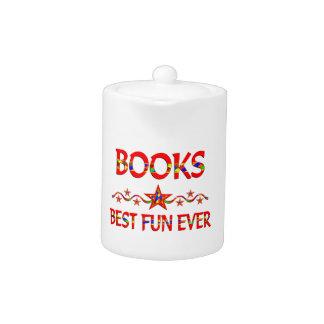 La mejor diversión de los libros