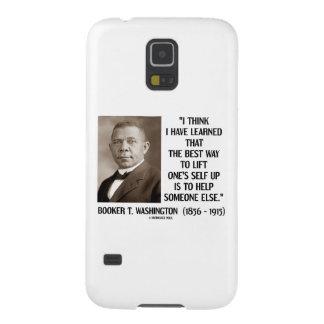 La mejor elevación de la manera del Booker T. Carcasa De Galaxy S5