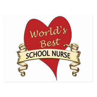 La mejor enfermera de la escuela del mundo postal