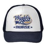 La mejor enfermera de los mundos gorros