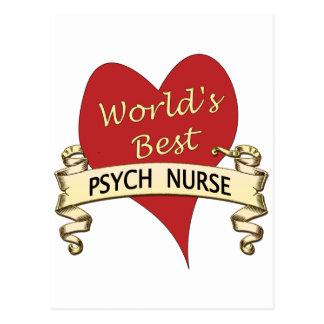 La mejor enfermera de Psyh del mundo Postales