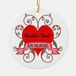 La mejor enfermera del ER del mundo Adorno Para Reyes