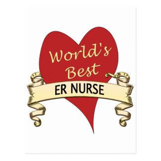 La mejor enfermera del ER del mundo Postales