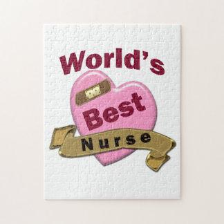 La mejor enfermera del mundo puzzle