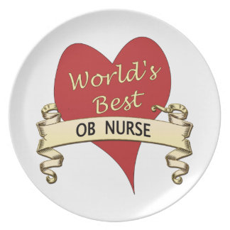 La mejor enfermera del OB del mundo Platos