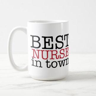 La mejor enfermera en taza de la ciudad
