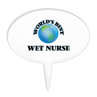 La mejor enfermera mojada del mundo decoraciones para tartas