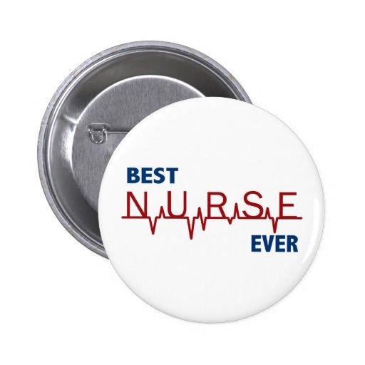 La mejor enfermera nunca pin