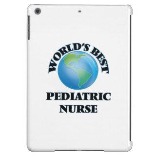 La mejor enfermera pediátrica del mundo funda para iPad air