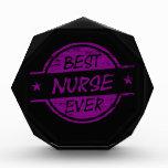 La mejor enfermera siempre púrpura