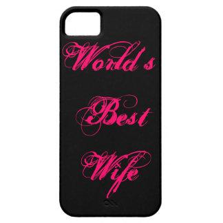 La mejor esposa del mundo iPhone 5 fundas