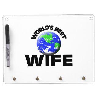 La mejor esposa del mundo tablero blanco